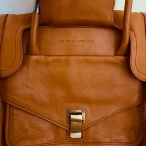8a121e861f Proenza Schouler Bags - PS1 Small Keepall Saffron Leather (Camel)